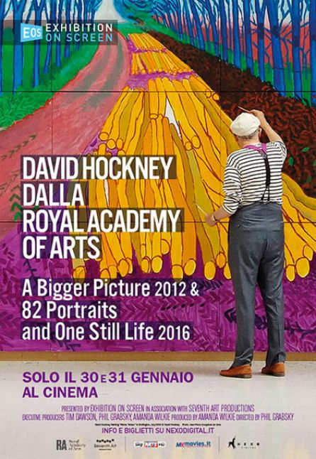 DAVID HOCKNEY DALLA ROYAL ACADEMY OF ARTS - LA GRANDE ARTE AL CINEMA 2017/2018
